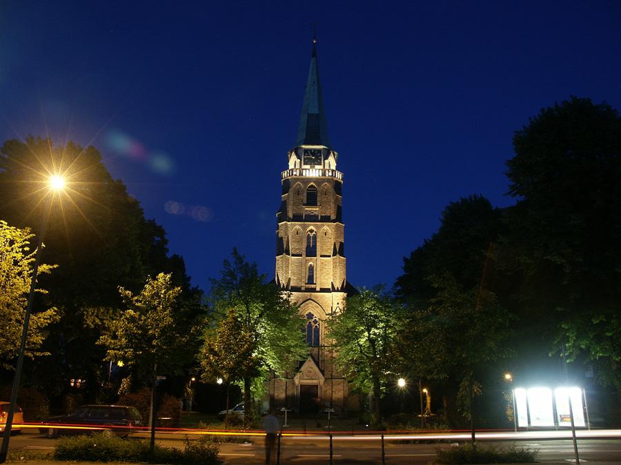 St. Donatus, Hochstraße, Brand