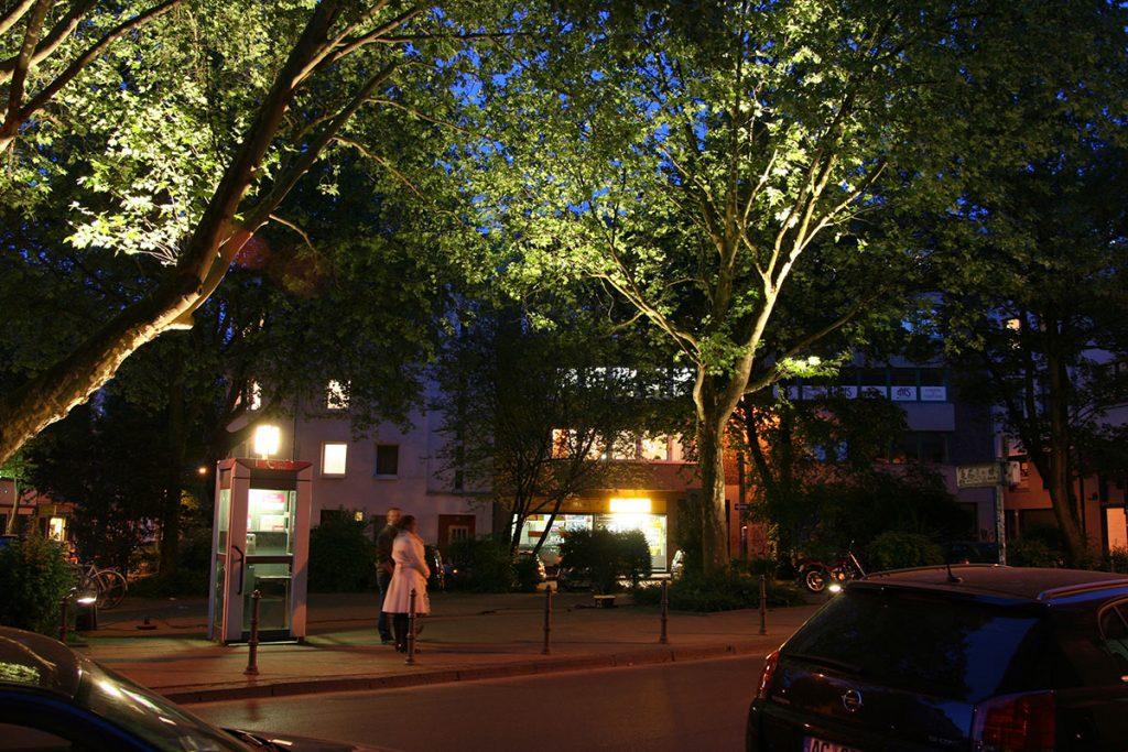 Baumbeleuchtung, Harscampplatz