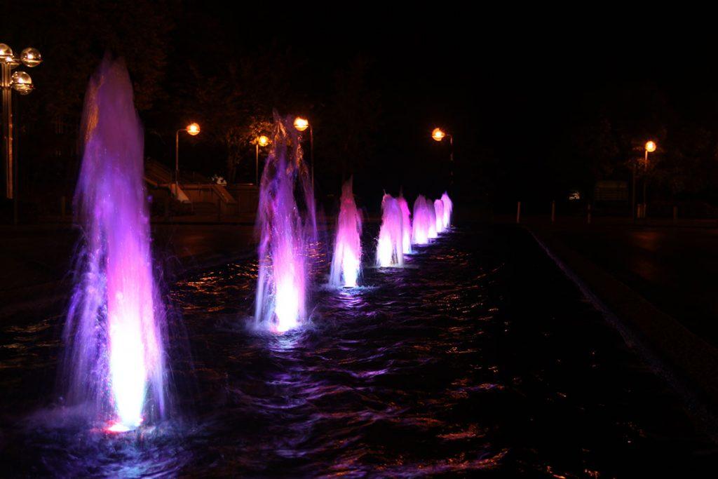 Brunnen Eurogress, Monheimsallee