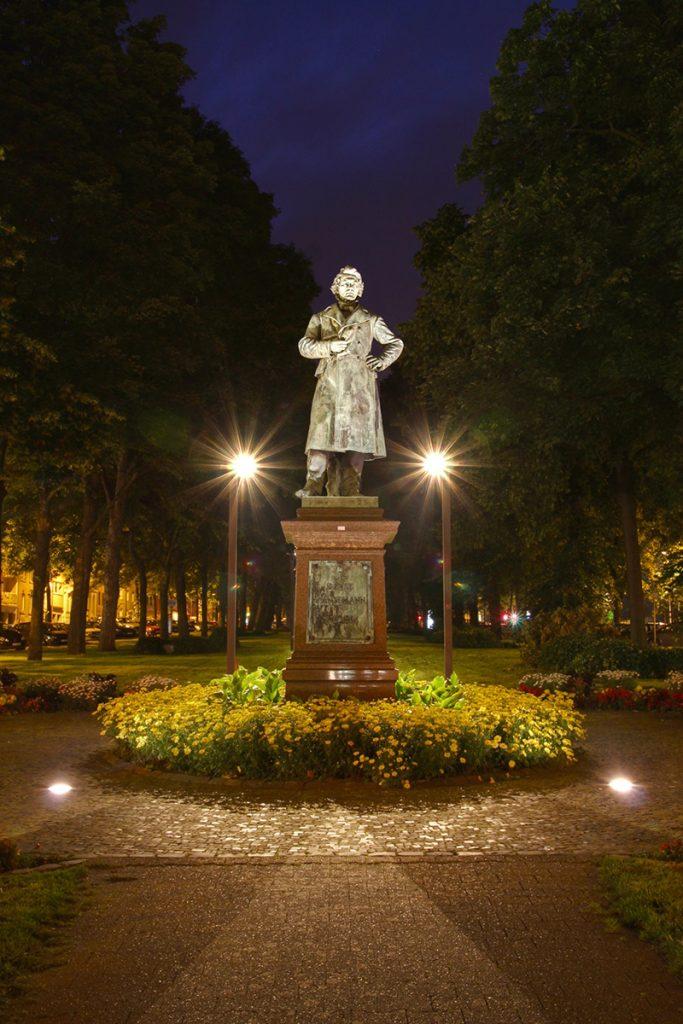 David Hansemann Denkmal, Monheimsallee