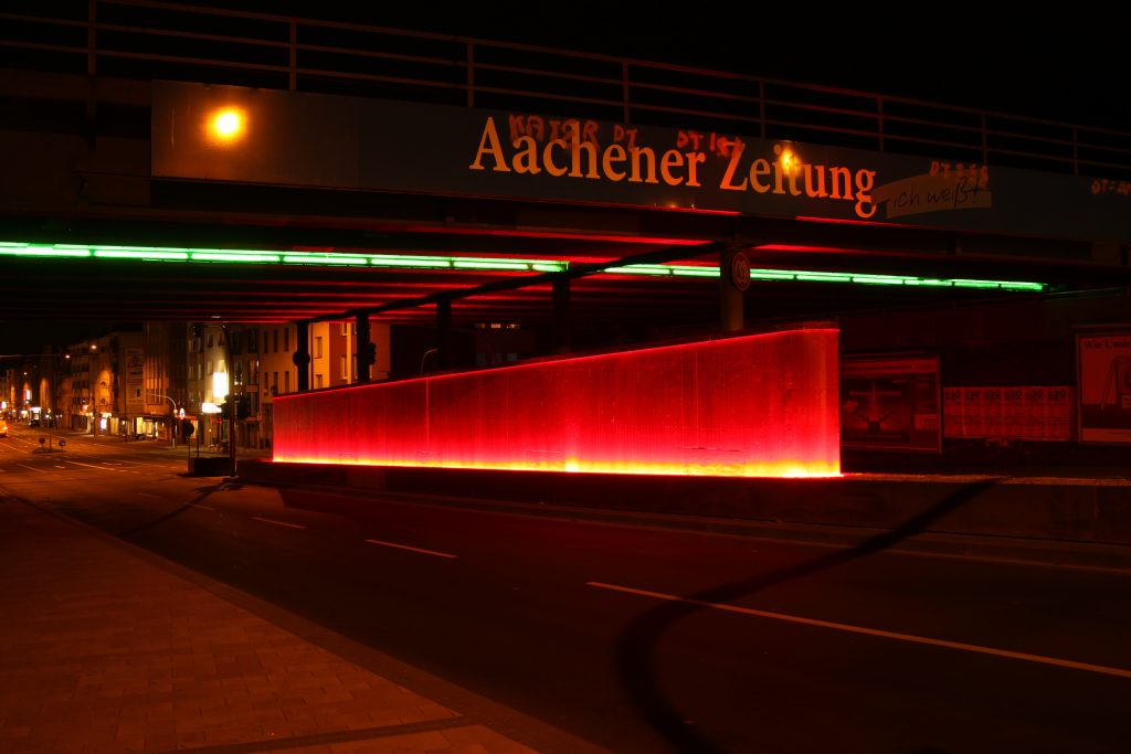 Bahnbrücke Rothe Erde, Trierer Straße